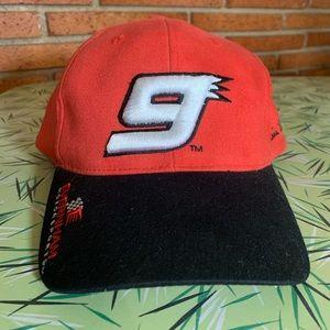 Bill Elliot #9 Nascar Snapback Competitor View Hat